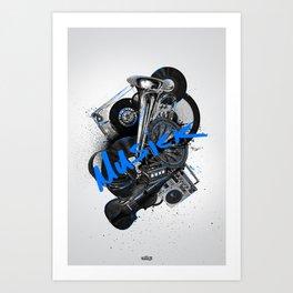 Musick Art Print