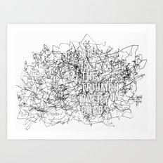 Triumph Over Chaos. Art Print