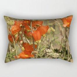 Desert Wildflower - 4 Rectangular Pillow