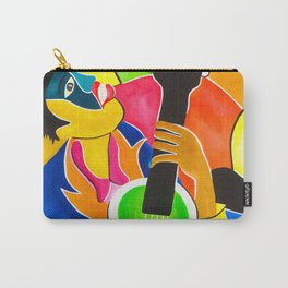 Blues Man Carry-All Pouch
