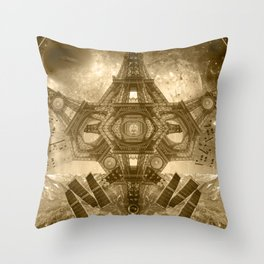 """""""Outsteller Exploration of Interspace"""", by Brock Springstead Throw Pillow"""