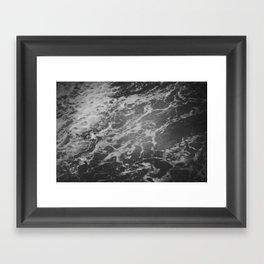 dark waters Framed Art Print