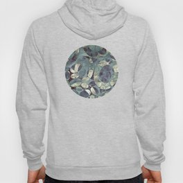 Background Metallic Ocean II Hoody