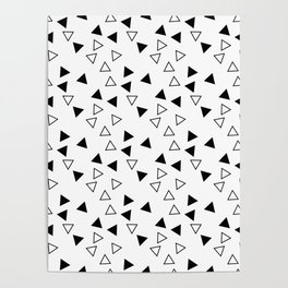 Products with triangles Poster