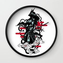 samurai#2 Wall Clock