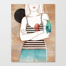 Palpitation V2 Canvas Print