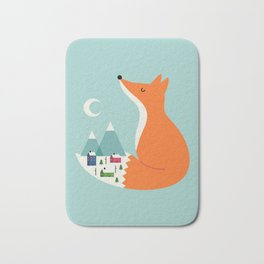 Winter Dreams Bath Mat