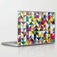book cover Laptop & iPad Skins featuring 100 book cover colours by Coralie Bickford-Smith