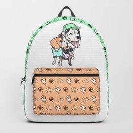 Dog Squad Goals Backpack