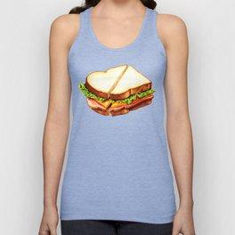 Ham Sandwich Pattern Unisex Tank Top