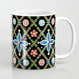 Elizabethan Lattice Coffee Mug