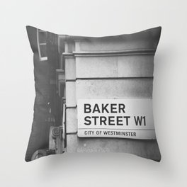 Oh, Sherlock! Throw Pillow