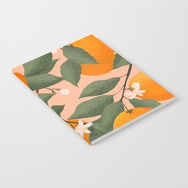 fresh citrus Notebook