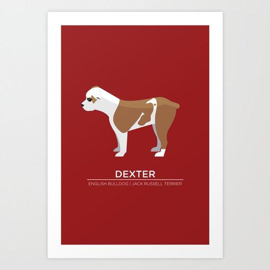 Dexter Art Print