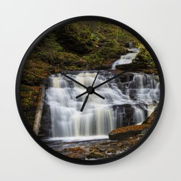 Mohican Falls Wall Clock