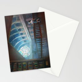 The Library under the Stars Stationery Cards