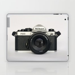 Classic chemicol retro camera. 35 mm format camera Laptop & iPad Skin
