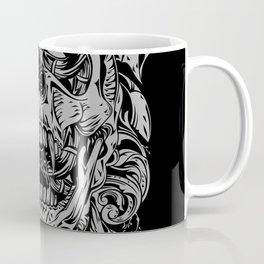 2 FACES SKULL Coffee Mug