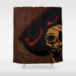 One eyed Willy Shower Curtain
