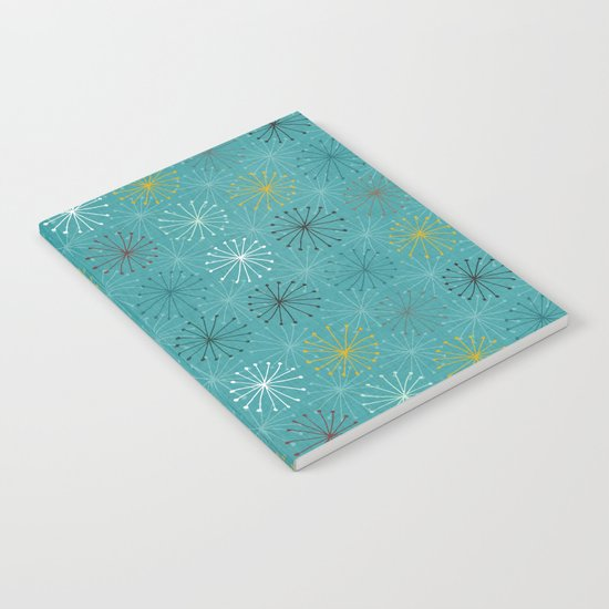 seedheads blue Notebook