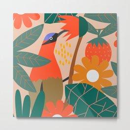 Cute pollinator Metal Print