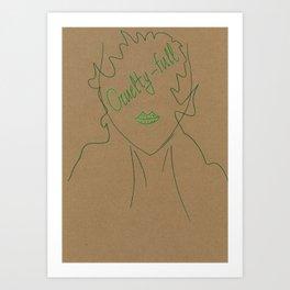 Cruelty-full Art Print