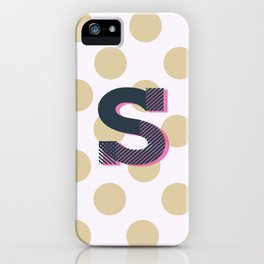 S is for Sweet iPhone Case