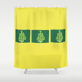 Growth by stages Shower Curtain