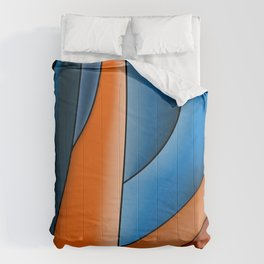 Lines Of Stained Glass Comforters