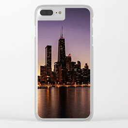 Chicago Skyline - new! Clear iPhone Case