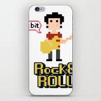 8bit iPhone & iPod Skins featuring 8bit by ulas okuyucu