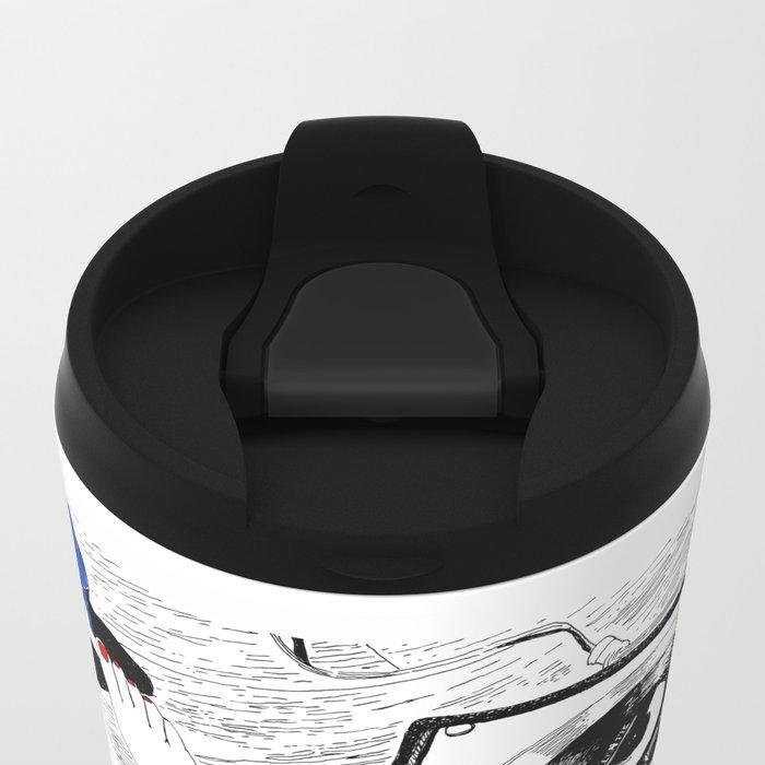 Cherry Bomb Metal Travel Mug
