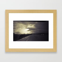 Sun Beams Framed Art Print