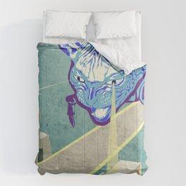 Laser Cat Comforters