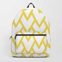 Abstract Heart - Arrow Head Shape Pattern 17 V1 Pantone 2021 Color Of The Year Illuminating 13-0647 Backpack