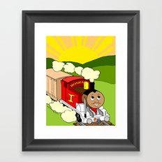 Bonifacio The Train Framed Art Print