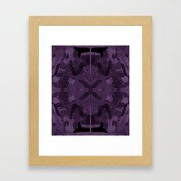 absence of purple Framed Art Print