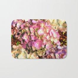 Hydrangea Sunlight Bath Mat