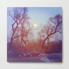 Blue Skies of BK... Metal Print