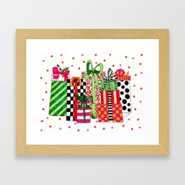 Presents! Framed Art Print