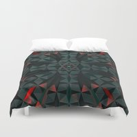 edm Duvet Covers featuring Crucible by Obvious Warrior