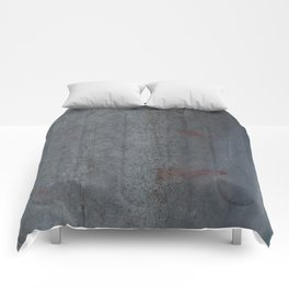 Aged Iron Faucet rustic decor Comforters