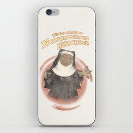 Nunchucking Nunchuck iPhone Skin