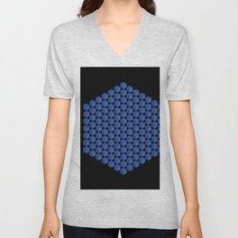 Cubed Unisex V-Neck