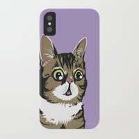 lil bub iPhone & iPod Cases featuring Lil Bub by Noelle Posadas