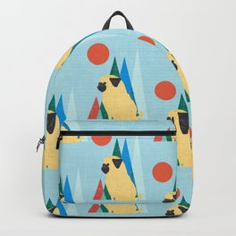Waiting for you Pug Backpack