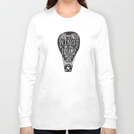 wings & dreams Long Sleeve T-shirt