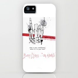 """Biffy Clyro - """"on a bang"""" iPhone Case"""