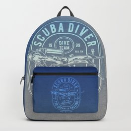 The Ocean Is Calling And I must Go Scuba Diving Backpack