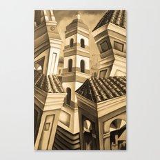 Remedios Cuba Sepia Canvas Print